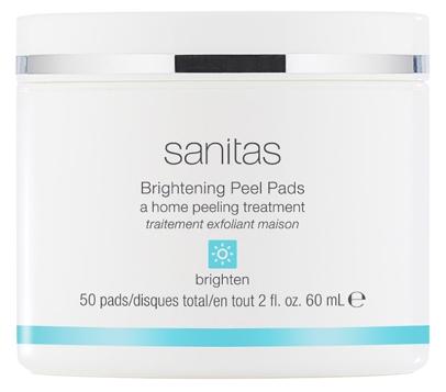 sanitas brightening peel pads